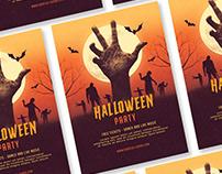Halloween Graphic PSD