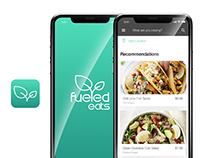 Fueled Eats - Mobile App Design - Food Delivery App