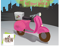 Brew And Chew - Social Media Marketing