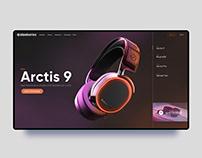 SteelSeries Website Redesign