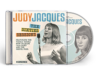 Judy Jacques - The Sixties Sessions CD Artwork
