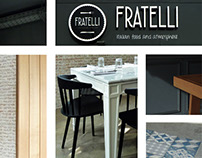 Restaurant FRATELLI concept by dumdum design