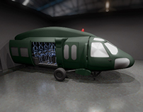 Render of Black Hawk Simulator