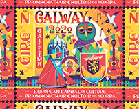 GALWAY - postage stamp