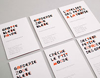 SPE Garderie - Typography