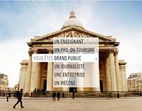 Centre des Monuments Nationaux - Plateforme digitale