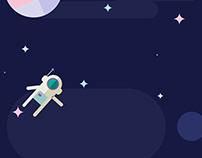 Space Explorer Animation
