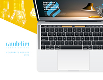 Candelier Corporate Website