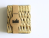 Packaging for Kouna reed products