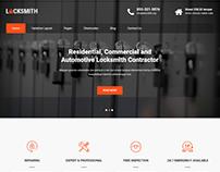 Locksmith WordPress theme