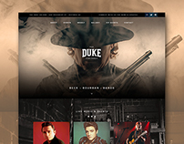 The Duke Saloon Website