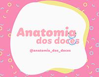 Anatomia dos doces/Logo & Social Media