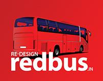 Redbus - ReDESIGNED