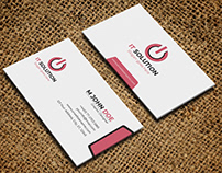 Professional Corporate design business card