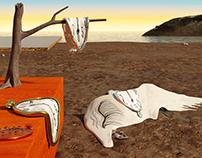 The Persistence of Memory (Dalí, 1931)- 3D renderings