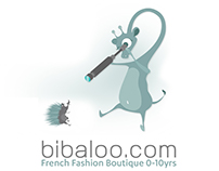 GRAPHIC DESIGN FOR BIBALOO BOUTIQUE