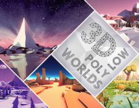 3D Low Poly Worlds