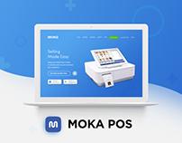 Moka Point of Sale (POS) Website Redesign