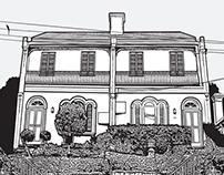 Terrace Illustration
