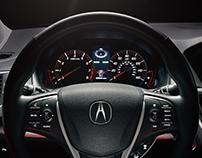 Acura TLX Interor
