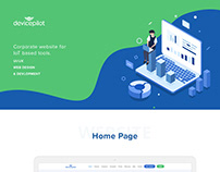Device Pilot Website Design