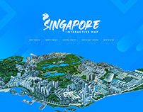 Singapore 3D Interactive Map
