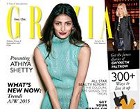 Athiya Shetty/ Grazia, September 2015