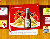 Website Design for Heinz, India