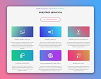 Designux web section