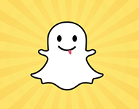 Snapchat Ghost Animation