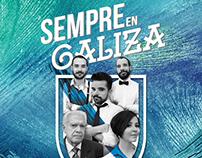 """Diseño de Imagen programa de radio """"Sempre en Galiza"""""""