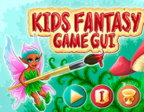Kids Fantasy Game GUI