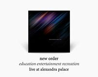 New Order 'A Brand New Live Album'