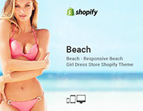 Beach – Responsive Beach Girl Dress Store Shopify Theme