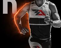 Triathlon club logo design