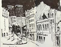 Urban Sketchers - Cidade