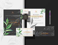 Free PSD Branding Stationery Mockup Vol 1