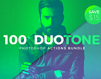 125 Duotone Photoshop Actions