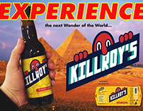 KILLROY'S BEER MOCKUP