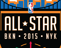 NBA All-Star Game 2015 Logo Concept