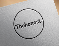 Logo design - The honest