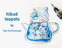 Hibud teapots