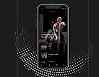 Crossfit mobile application