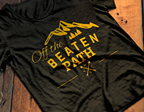 Off the beaten path Branding & advertising