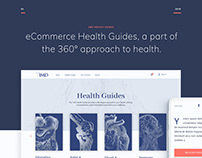 Health Guides UX UI