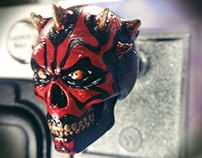 Shooter Rod - Darth Maul Skull