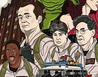Ilustración Ghostbusters