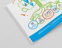 Engitel Web Agency / Brochure / Milan 2013