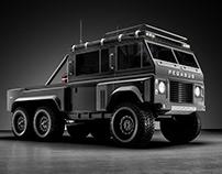 Pegasus 6X6 Customised Land Rover Series III