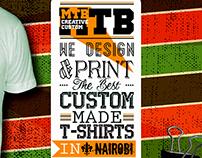 Kenyan Custom Teez